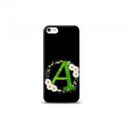 iPhone 5S A Harfli Papatya Tasarimli Telefon Kilifi Y-PAPATYAA