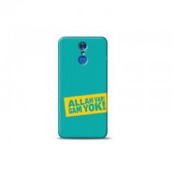 LG Q7 allah var gam yok tasarımlı Telefon kılıfı Y-KLFİS0206