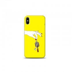 iPhone XS anahtarlık Sarı Koleksiyon Telefon Kılıfı Y-SRKLF021