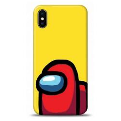 iphone Xs Among Us Tasarımlı Telefon Kılıfı Y-AMGS013