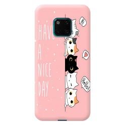 huawei Mate 20 Pro  Panda Tasarımlı Telefon Kılıfı Y-PND006