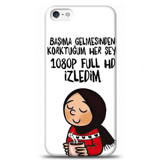 iPhone 5S 1080P HD İzledimTelefon Kılıfı Y-BYZKLF010