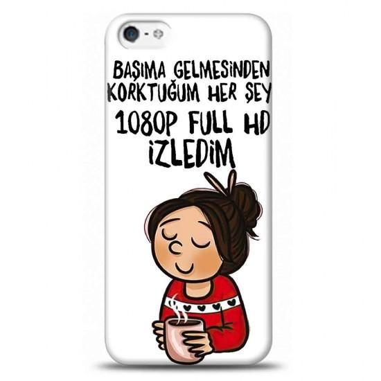 iPhone 5S 1080P HD İzledimTelefon Kılıfı Y-BYZKLF012