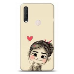 Alcatel 1S 2020 Aşk Tasarımlı Telefon Kılıfı Y-RASK021