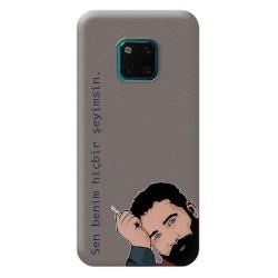 huawei Mate 20 Pro Ahmet Kaya Tasarımlı Telefon Kılıfı Y-KAYA006