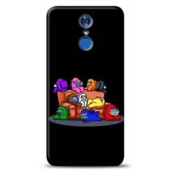LG Q7 Among Us Tasarımlı Telefon Kılıfı Y-AMGS002