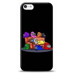 iPhone 5S Among Us Tasarımlı Telefon Kılıfı Y-AMGS002