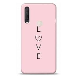 Alcatel 1S 2020 Aşk Tasarımlı Telefon Kılıfı Y-YZL025