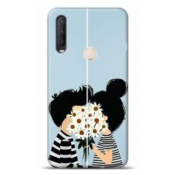 Alcatel 1S 2020 Aşk Tasarımlı Telefon Kılıfı Y-KNDA017