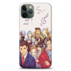 iPhone 11 Pro Max Ace Attorne Tasarımlı Telefon Kılıfı Y-ACE003