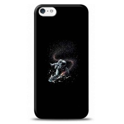 iPhone 5S  Kaykaycı Astronot Tasarımlı Telefon Kılıfı Y-GZGN001