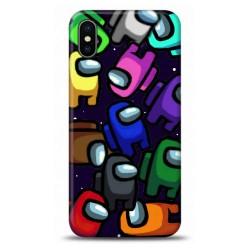 iphone Xs Among Us Tasarımlı Telefon Kılıfı Y-AMGS012