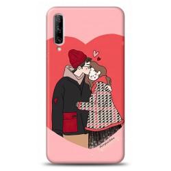 huawei Honor 20 Lite Aşk Tasarımlı Telefon Kılıfı Y-KNDA015